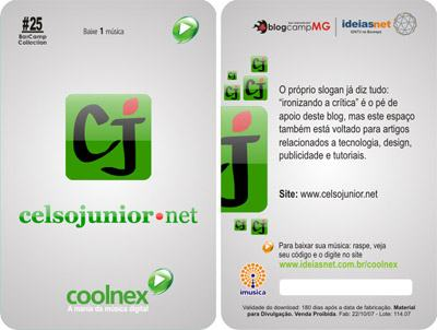 celsojunior.net no Coolnex Cards