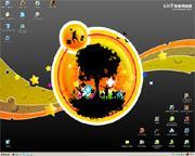 Meu desktop. Minha área de trabalho.